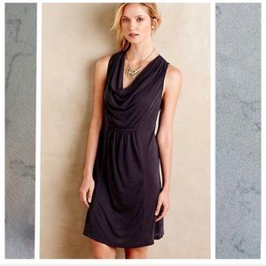 Anthropologie Maeve Cara Cowl Neck Dress